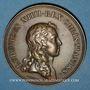Coins Alsace-Lorraine. Prise de Belfort 1654. Médaille en bronze jaune. Refrappe