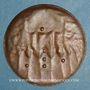 Coins Alsace. Marienthal. Vierge de Marienthal (Bas-Rhin). Epreuve en bronze de l'avers, 19 septembre 1859