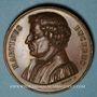 Coins Alsace. Martin Bucer (1491-1551). 1824. Bronze. 41,57 mm
