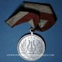 Coins Alsace. Morschwiller le Bas. Chorale Alsatia. Consécration du drapeau 1908. Médaille aluminium