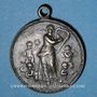 Coins Alsace. Morschwiller le Bas. Chorale Ste Caecilia - 25e anniversaire. 1903. Médaille cuivre. 28,5 mm