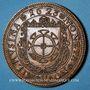 Coins Alsace. Mulhouse. 10e anniversaire du Cercle Numismatique de Mulhouse 1967-1977. Médaille en bronze