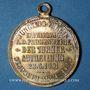 Coins Alsace. Mulhouse. 1er tournoi de gymnastique du Haut-Rhin. 1901. Médaille br argenté
