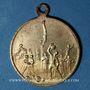 Coins Alsace. Mulhouse. 1er tournoi de gymnastique du Haut-Rhin. 1901. Médaille en laiton. 29 mm