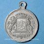 Coins Alsace. Mulhouse. Cavalcade. 1891. Médaille en étain. 29 mm