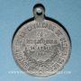 Coins Alsace. Mulhouse. Cavalcade de bienfaisance. 1884. Médaille en étain. 28,86 mm