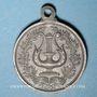 Coins Alsace. Mulhouse. Chorale  Mülhauser-Kränzchen (1895). Médaille étain. 29,08 mm