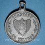 Coins Alsace. Pfastatt. Fête de la musique. 1890. Médaille plomb. 29 mm