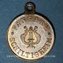 Coins Alsace. Schiltigheim. Fanfare. 1885. Médaille laiton. 23 mm
