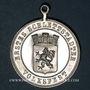 Coins Alsace. Sélestat. 1ère fête populaire. 1894. Médaille aluminium. 33,30 mm