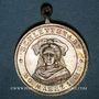 Coins Alsace. Sélestat. Cavalcade. 1891. Médaille bronze argenté. 26 mm, avec son œillet