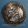 Coins Alsace. Strasbourg. Evêché. Charles de Lorraine (1592-1607). Teston n. d.