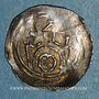 Coins Alsace. Strasbourg. Evêché. Epoque des Hohenstaufen (1138-1284). Denier. Molsheim vers 1190-1220