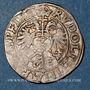 Coins Alsace. Strasbourg. Evêché. Jean de Manderscheid (1569-1592). 2 kreuzers 1577. Molsheim