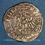 Coins Alsace. Strasbourg. Evêché. Jean de Manderscheid (1569-1592). 2 kreuzers 1589. Molsheim