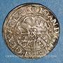 Coins Alsace. Strasbourg. Evêché. Jean de Manderscheid (1569-1592). 3 kreuzers 1580. Molsheim
