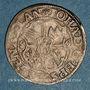 Coins Alsace. Strasbourg. Evêché. Jean de Manderscheid (1569-1592). 3 kreuzers 1586. Molsheim
