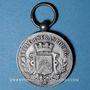 Coins Alsace. Strasbourg. Fédération Nationale de Sauvetage. Médaille bronze argenté.  Avec son anneau