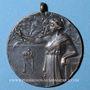 Coins Alsace. Strasbourg. Fête costumée. 1921. Médaille cuivre. Avec son anneau de suspension. 30 mm