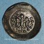 Coins Alsace. Strasbourg. Municipalité. Pfennig aux ailes déployées. Offenbourg (1309-1316)