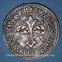 Coins Alsace. Strasbourg. Municipalité. Taler de tir 1590