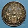 Coins Alsace. Strasbourg. Naisssance de Maurice Himly. 1891. Médaille argent. 30,5 mm.
