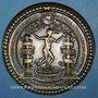 Coins Alsace. Strasbourg. Sceau de la Faculté de Médecine de Strasbourg (début du XVIIe). Médaille bronze