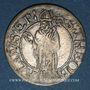 Coins Alsace. Thann. 1 batz 1624
