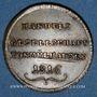 Coins Association des Commerçants. Jeton 1816. Laiton (traces d'argenture)