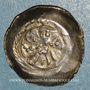 Coins Basse Alsace. Monnayage indéterminé (13e siècle). Denier à la roue