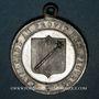 Coins Colmar. Cavalcade au profit des pauvres. 1885. Etain. 30 mm, avec œillet