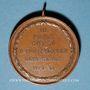 Coins Colmar. Corso. Compétition cycliste des clubs vélocipédiques colmariens. 1899. Médaille cuivre