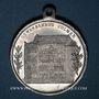 Coins Colmar. Inauguration de la Maison du Commerce. 1902. Médaille aluminium. 29,26 mm, avec son œillet