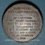 Coins Libération de Strabourg et commémoration de la Marseillaise de Rouget de Lisle 1918. Médaille plomb