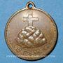 Coins Mulhouse-Dornach. Société de Chant - Consécration du drapeau. 1897 médaille. Bronze. 27 mm.