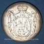 Coins Murbach et Lure. François Antoine Benoît Frédéric, comte d'Andlau-Hombourg (1785-90) Médaille argent