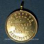 Coins Obernai. Hommage aux amis de l'association Harmonie Caecilia 1881. 1894. Médaille laiton. 24,88 mm