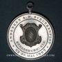 Coins Strasbourg. Concours de tir, 23-30 mai 1897. Médaille aluminium. 33,5 mm