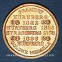 Coins Strasbourg. J. L. Erlenbach (lingerie, confection). Médaille cuivre jaune. 29,14 mm
