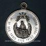 Coins Trois Epis. Sanctuaire de Notre Dame des Trois Epis (début du 20e). Médaille aluminium. 32,07 mm