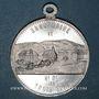 Coins Trois Epis. Sanctuaire de Notre Dame des Trois Epis (début du 20e). Médaille aluminium. 32,16 mm