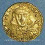 Coins Empire byzantin. Tibère III Apsimar (698-705). Solidus. Constantinople, 4e officine, 698-705