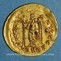 Coins Empire romain d'Orient. Basiliscus (475-476). Solidus. Constantinople