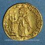 Coins Justinien II (685-695). Solidus. Constantinople