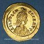 Coins Pulchérie, soeur de Théodose II († 453). Solidus. Constantinople, 441-450.