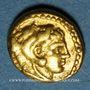Coins Royaume de Macédoine. Philippe II (359-336 av. J-C). 1/8 statère. Pella