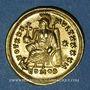 Coins Théodose II (408-450). Solidus. Constantinople, 8e officine, 430-440