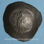 Coins Empire Byzantin. Andronic I (1183-1185). Aspron Trachy. Constantinople