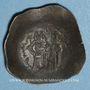 Coins Empire Byzantin. Andronic I (1183-1185). Aspron Trachy. Constantinople