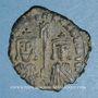 Coins Empire byzantin. Basile I (867-886). Follis. Constantinople, 868-870